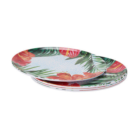 4 Paradise Dinner Plates