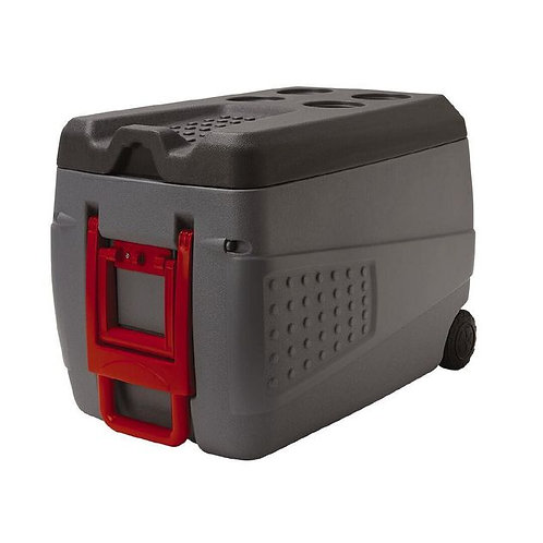 Living & Co Chilly bin Grey / Red 50L