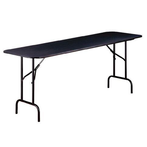 L&C Trestle Table 1.8M V2 Black