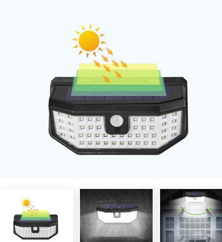 SOLAR MOTION SENSOR LIGHT 48 LED