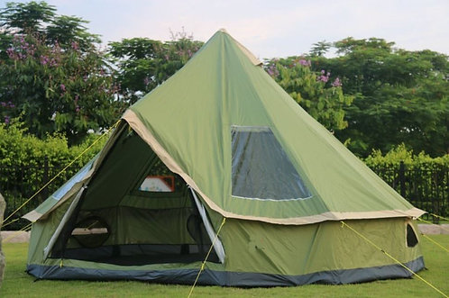 4m Bell Yurt Tent - 300D Oxford Polyester