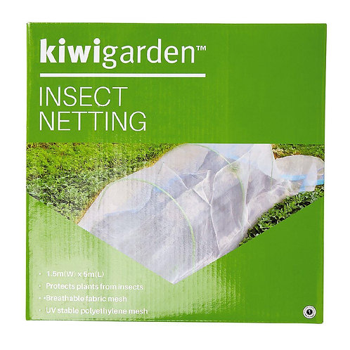 Kiwi Garden Insect Netting 1.5m x 5m