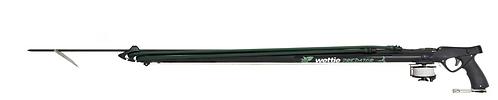Wettie 'Predator' Alloy Speargun 120cm with reel line