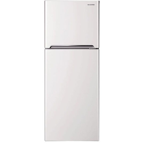 Daewoo Top Mount Fridge/Freezer 262L White