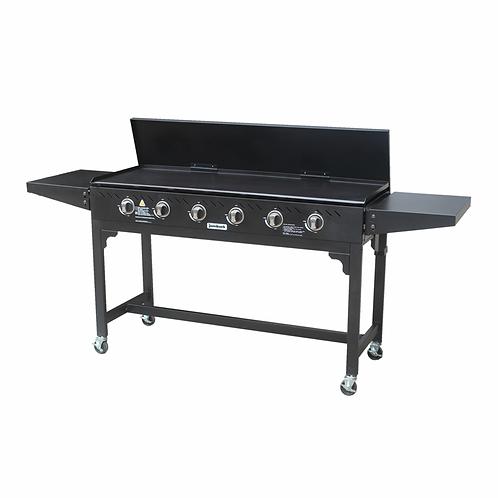 Jumbuck 6 Burner Solid Top BBQ
