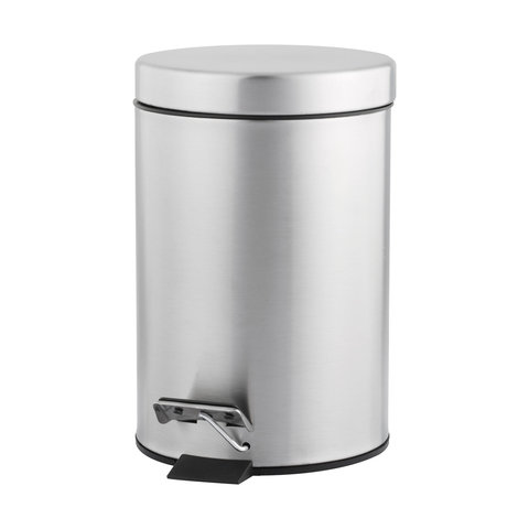 3L Stainless Steel Rubbish Bin