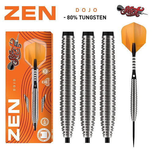 Zen Dojo Steel Tip Dart Set