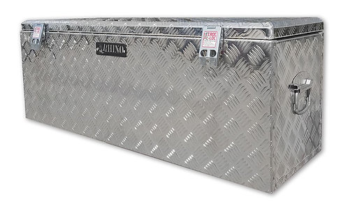 Thunderbox Aluminium Checker Plate Toolbox