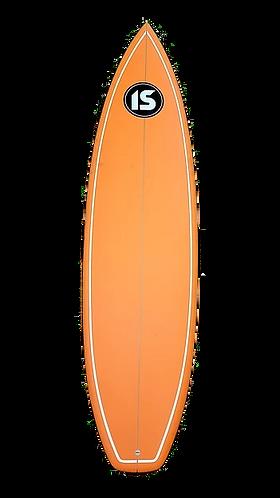 """Island Style Shortboard - 6'3"""" Orange"""