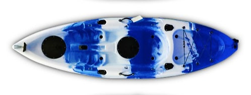 Single Kayak - Blue/White Mix