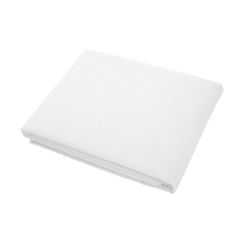Heavy Duty White Tablecover