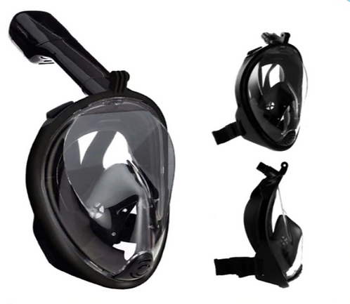 Full Face Snorkel Scuba Dry Mask