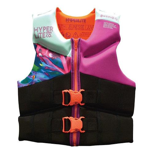 Hyperlite 2021 Youth Girls Neoprene Vest