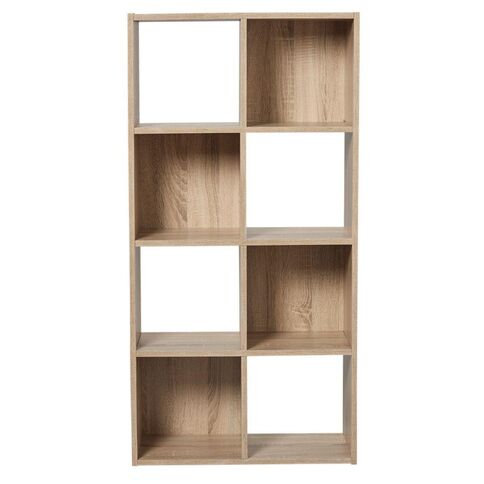 Living & Co Mason 8 Cube Oak Look