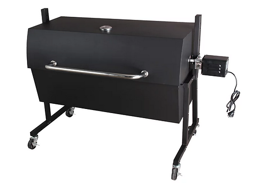 BBQ Spit Roaster with Hood