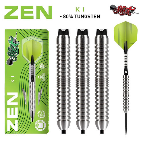 Zen Ki Steel Tip Dart Set