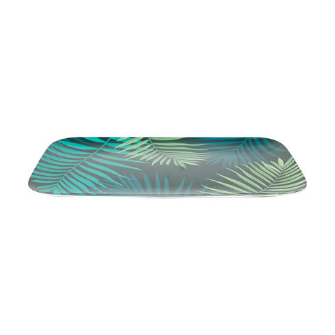 Tropical Palm Rectangle Platter