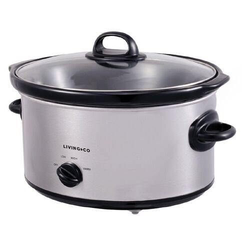 Slow Cooker 5.7L Stainless steel