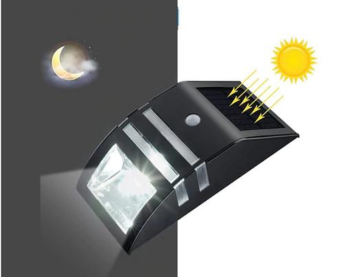 SOLAR SENSOR LIGHT BLACK