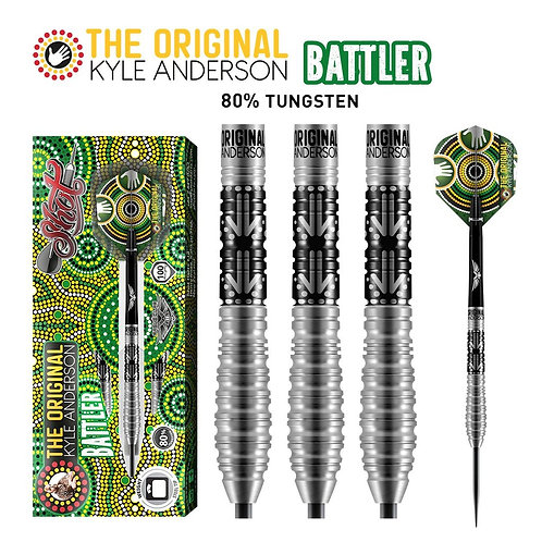 Shot Kyle Anderson Battler Steel Tip Dart Set