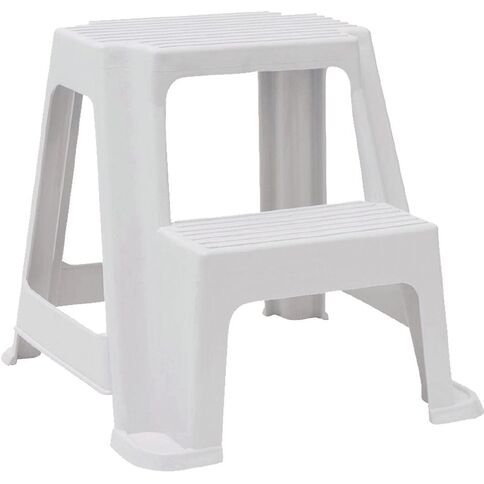 Bulldog 2 Step Plastic Step Stool