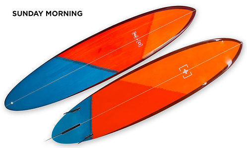 "8'2"" Mini-Long Surfboard FCS II"