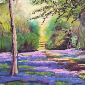 Bluebell Escape, Julie Swan Art