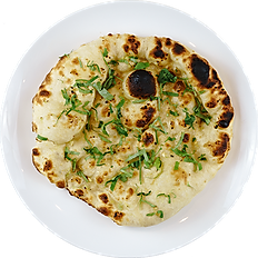 Garlic Coriander Naan ⓋⒼⒺⓜ