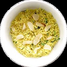Garlic Pilau Ⓥ