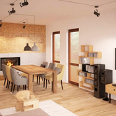 Projekt wnętrza: Fabryka Nastroju Izabela Szewc