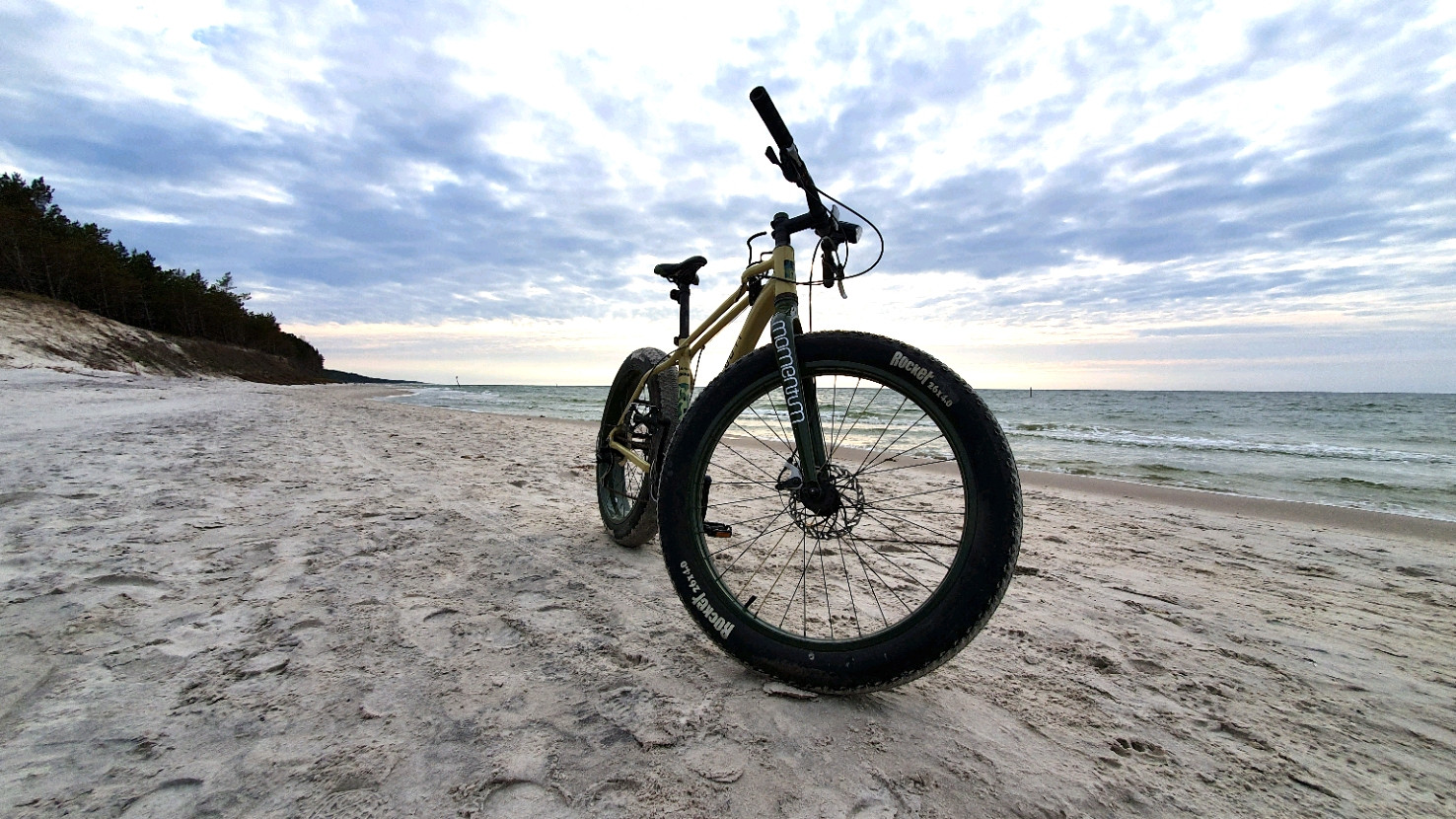 Biała Wydma Lubiatowo - wyprawy rowerowe