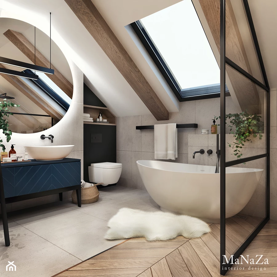 Projekt wnętrza: MaNaZa