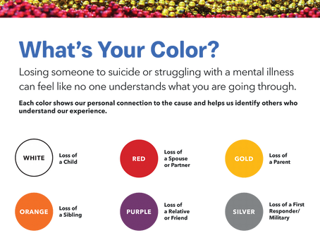 How Suicide Affects Us All:  What's Your Color?
