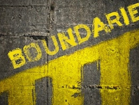 Boundaries:  4 Thing to Consider