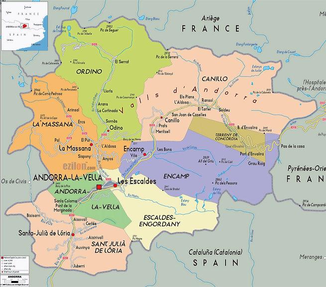 paroisses Andorre - Platine Solutions