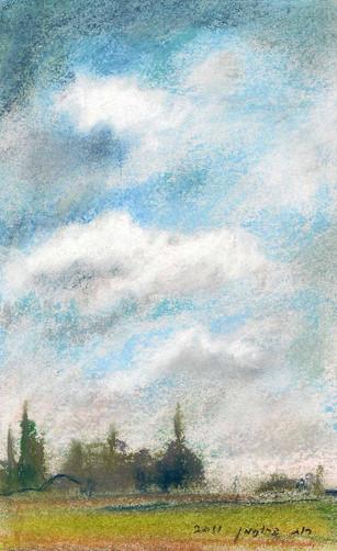 Sky I RUTH GROSSMAN