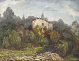 SOLD I House in the Country I RUTH GROSSMAN