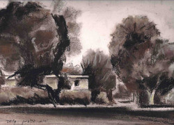Between Trees -3 I RUTH GROSSMAN