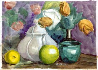 Still Life with Flowers I RUTH GROSSMAN