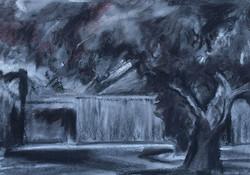 Small House near Tree I RUTH GROSSMA