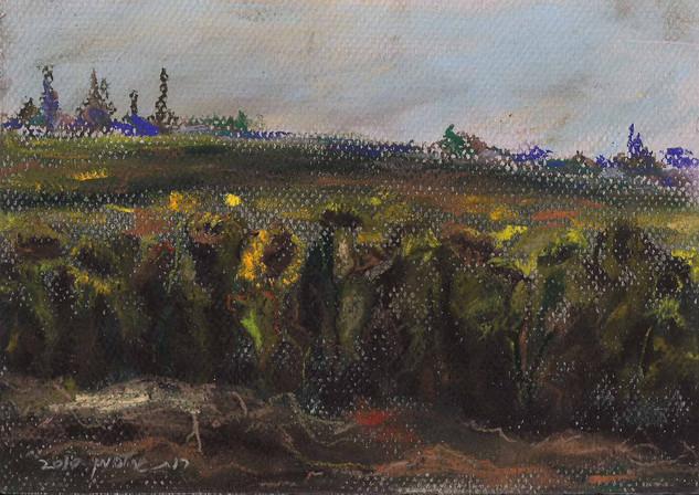 SOLD I Sunflowers Field  I RUTH GROSSMAN