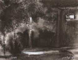 Kibbutz at Night I RUTH GROSSMAN
