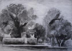 Between Trees -2 I RUTH GROSSMAN