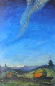 Museum of Art, Uman I Blue Sky  I RUTH GROSSMAN
