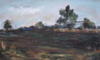 Shed in the Field  I RUTH GROSSMAN