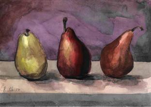 Three Pears I RUTH GROSSMAN