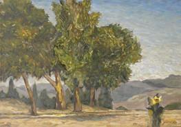 Over looking the Hills of Jerusalem I RUTH GROSSMAN