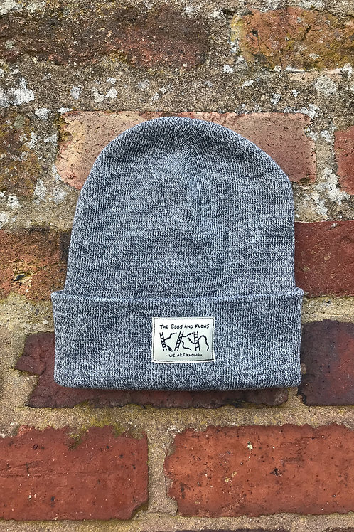 EBBS & FLOWS BEANIE GREY