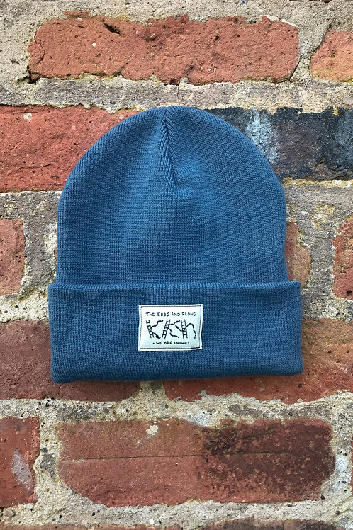 EBBS & FLOWS BEANIE AIRFORCE BLUE