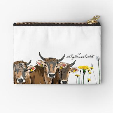 Drei junge Kühe / Schumpen